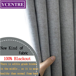 YCENTRE Health-Curtain Livingroom Customized For Bedroom 100%Blackout Rideaux-Window