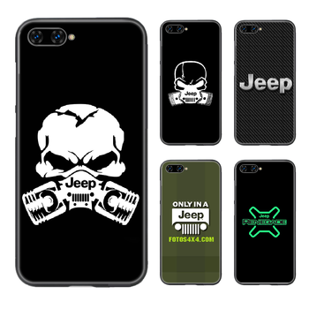 Jeep car Phone Case Cover Hull For HUAWEI honor 8 8c 8a 8x 9 9a 9x V10 MATE 10 20 I lite pro black coque soft waterproof trend image