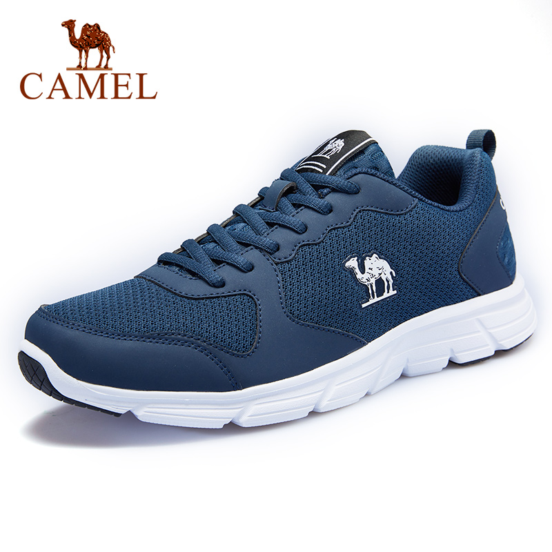 CAMEL Large Size Outdoor Max Men Sports Shoes Shockproof Casual Breathable Sneakers Lightweight Male Running Shoes US 7.5-11.5