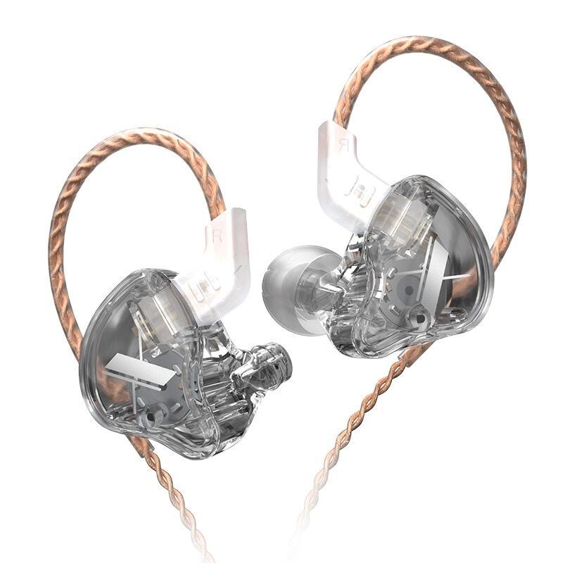 AK KZ EDX 1 Dynamic In Ear Earphones HIFI Bass Headphone Noise Cancelling Headset
