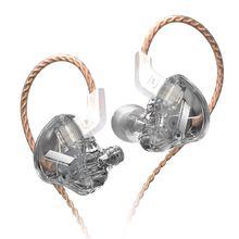 AK KZ EDX 1 dynamique dans loreille écouteurs HIFI basse casque antibruit casque