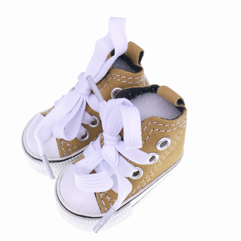 Tilda 5.5cm Sneakers For Dolls Paola Reina Minifee,Mini Toy Gym Shoes 1/6 Bjd Doll Sports Shoes Accessories For Dolls Toys