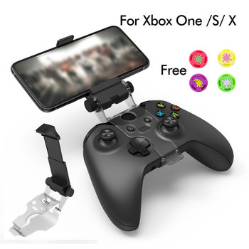 Adjustable Bracket Phone Clamp Stand For Xbox ONE S Controller Smartphone Clamp for xbox one x controller 1