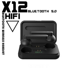 New X12 TWS Bluetooth headphones Earbuds HIFI Sport Wireless earphones Noise reduction In-Ear Headset For i9000 i12 Pro i7s i9s new x12 tws bluetooth headphones earbuds hifi sport wireless earphones noise reduction in ear headset for i9000 i12 pro i7s i9s