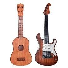Для начинающих Классическая гитара укулеле Музыкальные инструменты детские игрушки обучающая игра музыкальный инструмент игрушка Рождество Gif
