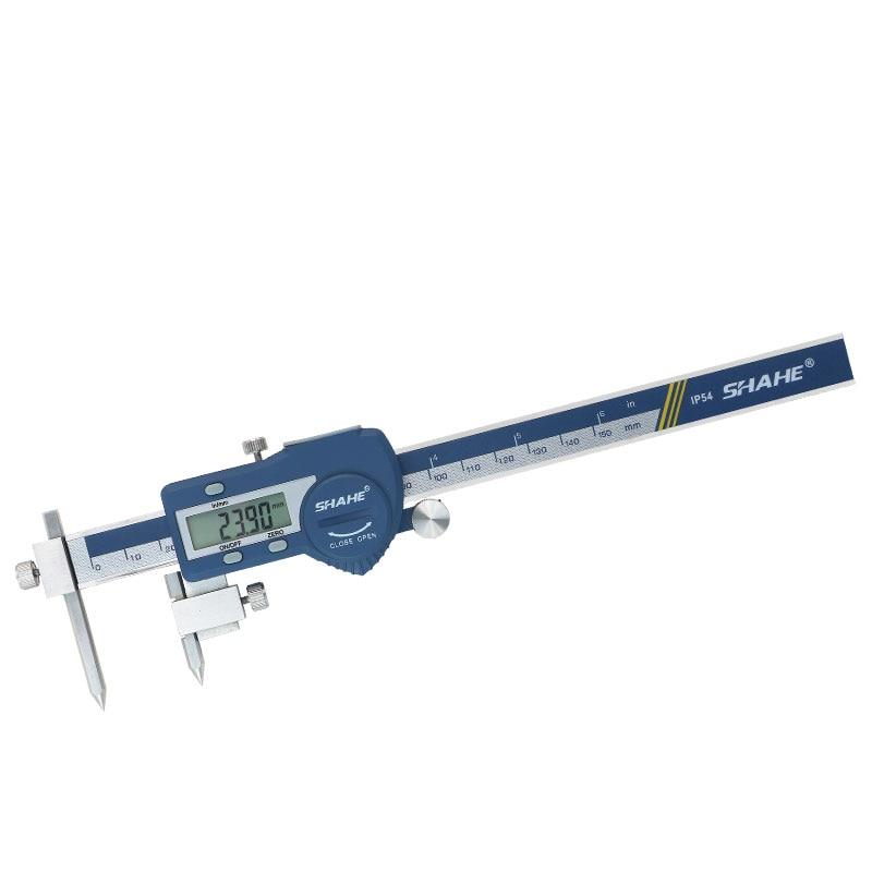 home improvement : Digital Ultrasonic Thickness Gauge 1 2-220mm Steel Width Testing Monitor Tester Meter Sound Velocity Meter Measuring Instrument