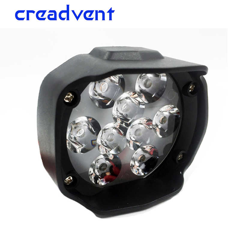Creadvent Super Bright 1500lm Motorcycles Led Headlight Scooters Fog Spotlight DRL working lamp Motorcycle accessories 12V 6500K