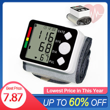 Pulso digital lcd monitor de pressão arterial pulsemeter manômetro tonemeter afownings medidor de pressão teste médico dispositivos saúde