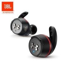 Orijinal JBL UA FLASH TWS kulak kablosuz Bluetooth V4.2 kulaklık spor gerçek kablosuz su geçirmez kulakiçi ile şarj kutusu ve mikrofon