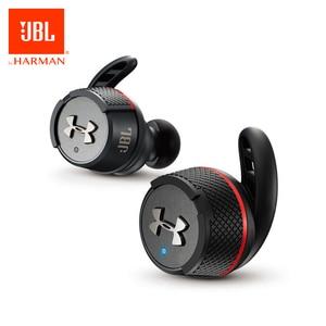 Image 1 - Orijinal JBL UA FLASH TWS kulak kablosuz Bluetooth V4.2 kulaklık spor gerçek kablosuz su geçirmez kulakiçi ile şarj kutusu ve mikrofon