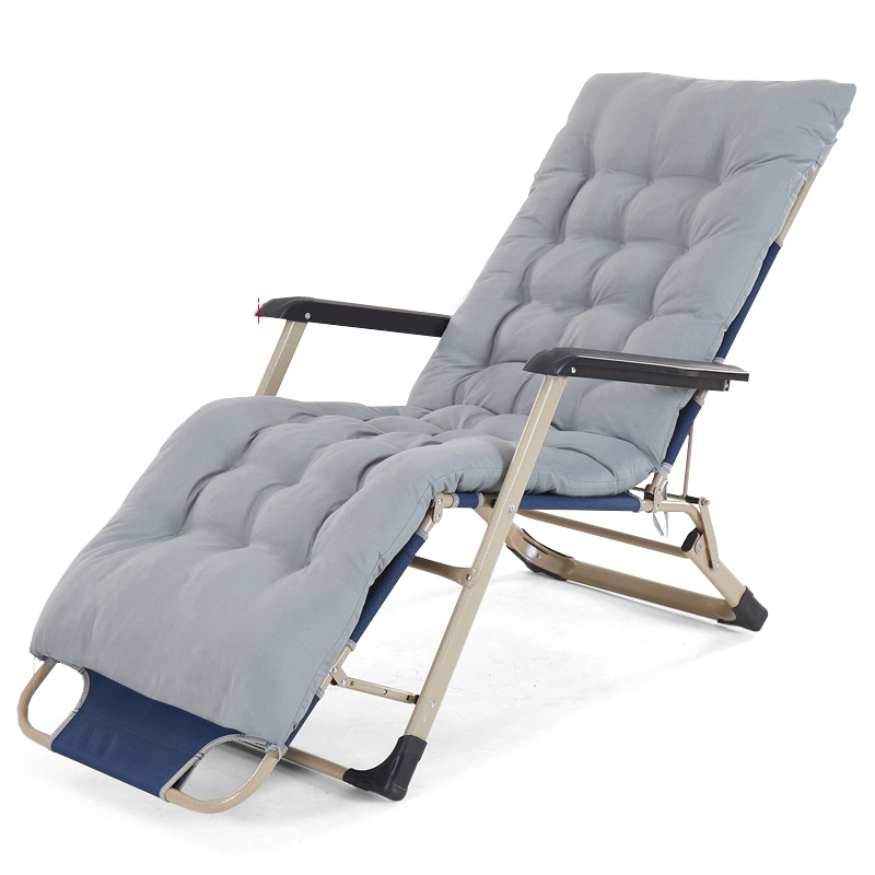 Folding Bed Lunch Break Lunch Break Chair Reclining Office Folding Chair Single Bed Hospital Accompanying Bed