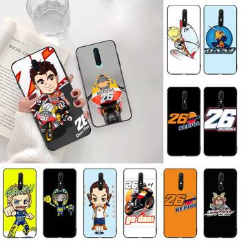 Dani Pedrosa 26 motorcycle Customer High Quality Phone Case For Oppo A5 A9 2020 Reno2 z Renoace 3pro Realme5Pro image