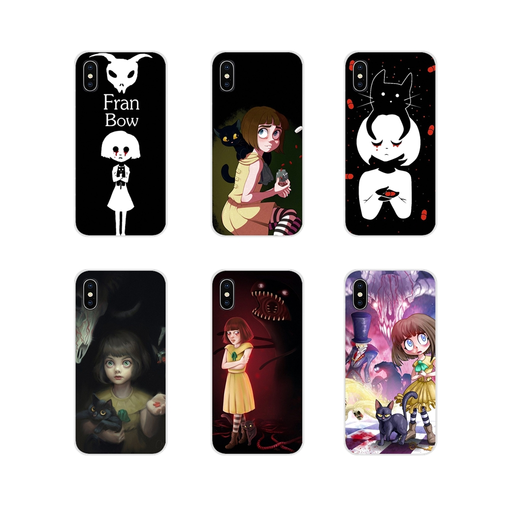 For Xiaomi Redmi 4A S2 Note 3 3S 4 4X 5 Plus 6 7 6A Pro Pocophone F1 Silicone Phone Case Cover Fashion Game Fran Bow Horror Girl image