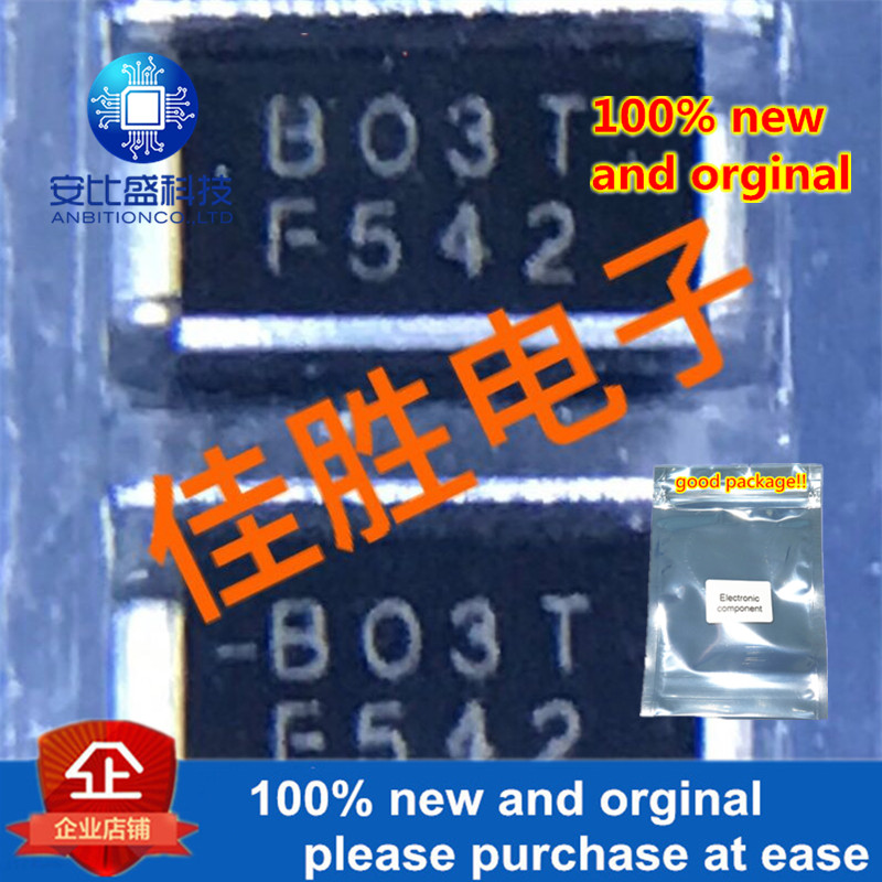 50pcs 100% New And Orginal B0300T B30V DO214AC Silk-screen B03T Two-way Lightning Protection, Discharge Tube In Stock