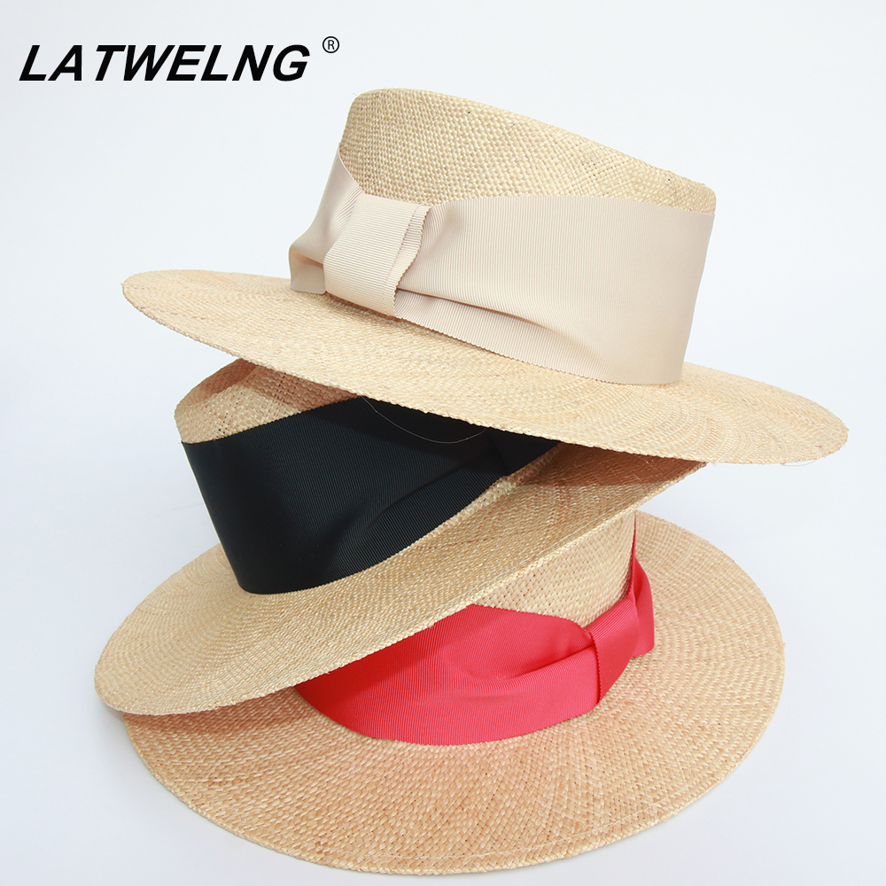 Fashion Ring Top Female Summer Dress Hat Lady Beige Treasure Grass Beach Hats Holiday Caps