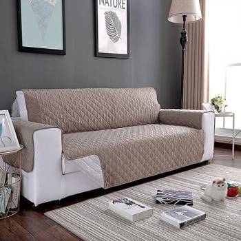 Sofa narzuta na sofę krzesło rzuć Pet Dog Kids Mat pokrowiec na meble odwracalne zmywalne zdejmowane podłokietniki 1 2 3 Seat tanie i dobre opinie L0010249011 Rozkładana okładka Other Nowoczesne Plaid Sofa przekroju