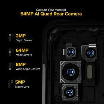 """Ulefone Armor 10 5G Rugged Mobile Phone Android 10 8GB +128GB Waterproof Smartphone/IP68 IP69K/ 6.67""""/64MP Camera Mobile Phones 4"""