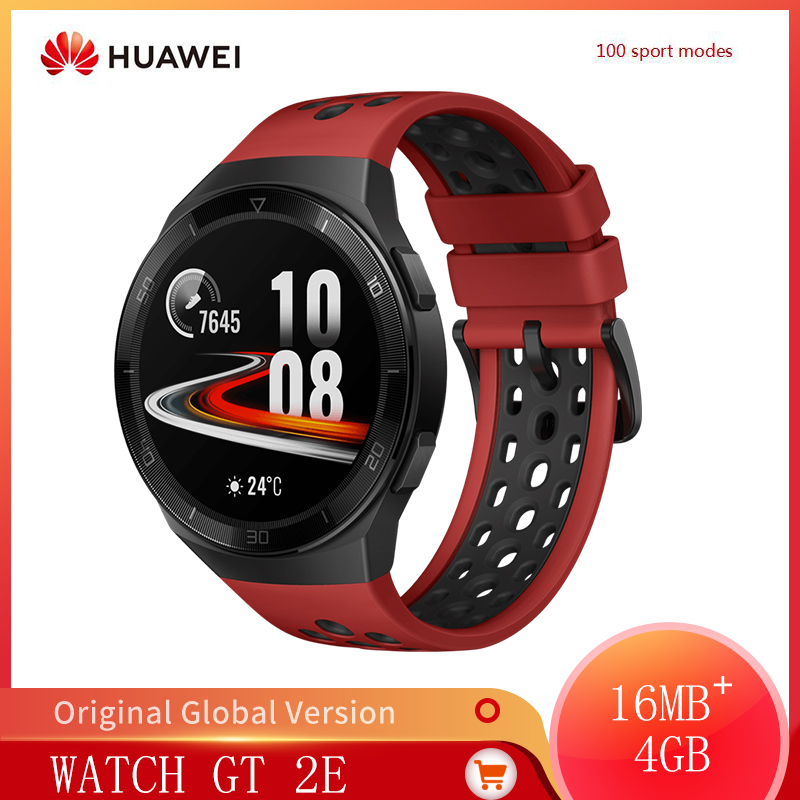 HUAWEI Watch GT 2E Smart Watch Heart Rate Tracker Smart Wristband Health Features Tracker SmartWatch Play Music Via Bluetooth