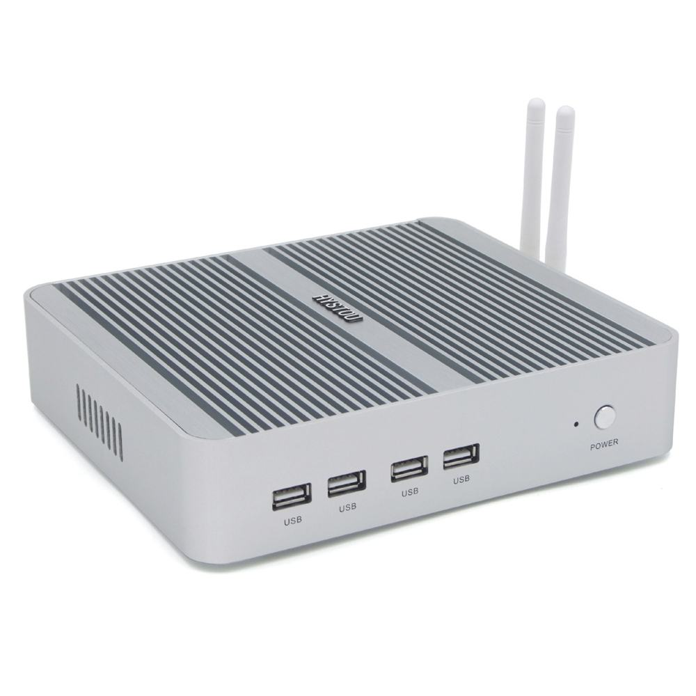HYSTOU FMP03B Mini PC I5 8250U 8th Generation 8GB+256GB Dual Cores Win10 DDR4 Intel HD Graphics 620 3.5GHz Fanless Desktop PC