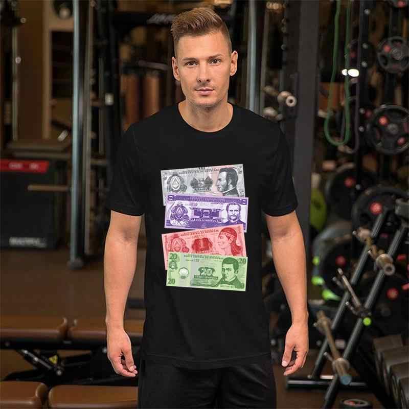 Diseño Biyuyo Camiseta de gran tamaño s 9999xl humorístico hombres ropa de moda tendencias de verano para hombres camiseta