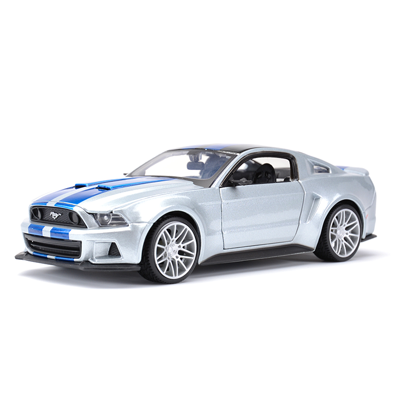 Maisto 1:24 2014 Ford Mustang Street Racer Sports Car Static Simulation Diecast Alloy Model Car|Diecasts & Toy Vehicles|   - AliExpress