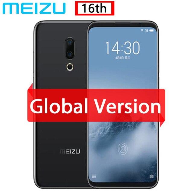 """הגלובלי גרסה מקורי Meizu 16th 16 4G Snapdragon 845 Adreno 630 6GB RAM 64GB ROM 6.0"""" FHD 2160x1080P מלא מסך כפול מצלמה"""