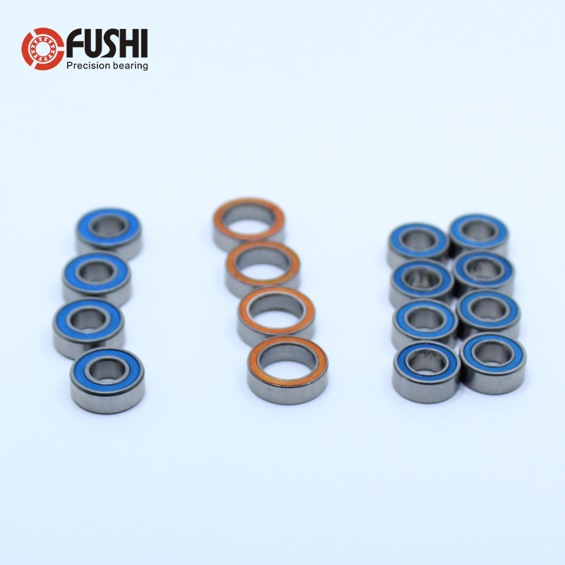 <font><b>Tamiya</b></font> RC Ball Bearing Set for <font><b>Tamiya</b></font> <font><b>TT</b></font>-<font><b>02</b></font> 16Pcs Bearings image