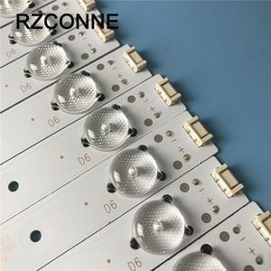 """Image 4 - LED rétro éclairage barre 6 lampe pour Skysorth 49 """"TV 5800 W49001 1P00 5800 W49001 2P00 49E3000 49E6000 49E360E/5ERS 49E3500 49E350E"""