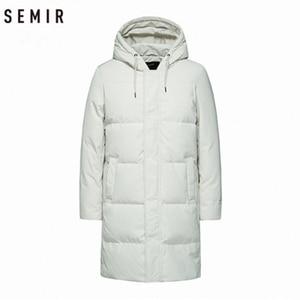 Image 5 - SEMIR 2020 Neue Winter Männer Unten Jacke 2XL Extra Lange Ente Unten Mantel Verdicken Warme Winddicht Männlichen Outwear