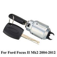 Комплект для ремонта замка капота автомобиля с 2 ключами для Ford Focus II Mk2 2004 2012 4M5AA16B970AB