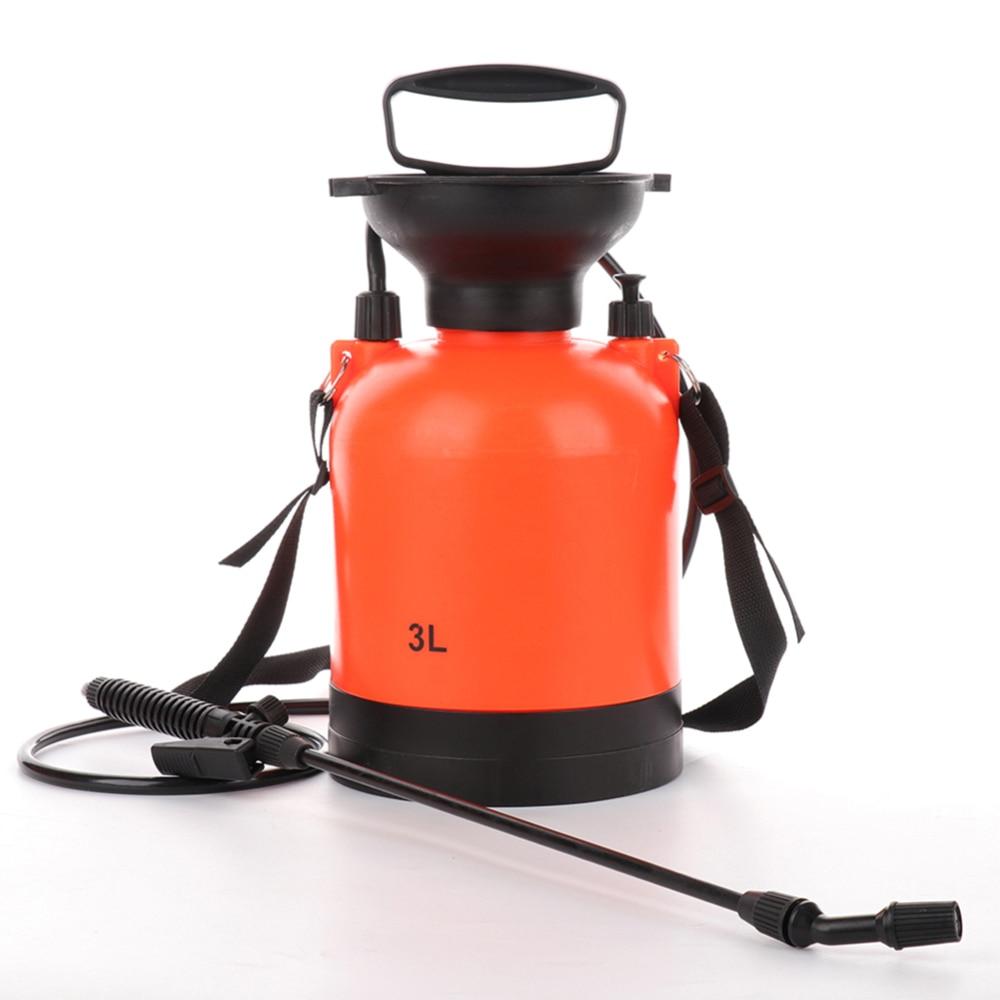 Ev ve Bahçe'ten Spreyler'de 3L el basınçlı püskürtücü ayarlanabilir meme hava sıkıştırma pompası püskürtme borusu title=