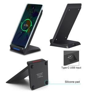 Image 5 - DCAE 15W support de chargeur sans fil pour iPhone SE 2 11 Pro Max XS XR X 8 USB C Qi Station de chargement rapide pour Samsung S20 S10 S9