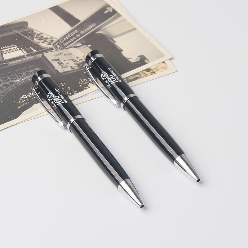 Купить с кэшбэком Shichen A100 Classic promotional twist ballpoint pen 0.7mm 1.0mm ink office school using metal pen or for sample gift
