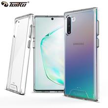 TOIKO Chiron Clear Case for Samsung Galaxy Note 10 Plus Shockproof Protection Bumper Shell Note 10 Lite Hybrid PC TPU Back Cover