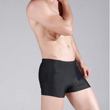 Plus-sized Menswear Black And White With Pattern Swimming Trunks Good Fabric Dacron Beach Swimming Trunks