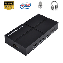 Video-Capture-Card EZCAP Game-Recording Audio-Out Live-Streaming-Broadcast To 1080P MIC