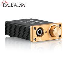 Douk amplificador de áudio hifi desktop, mini classe a, fone de ouvido estéreo usb 5v para hd580/k701/rs1e