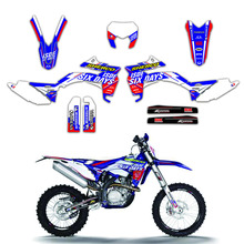 Motorcycle Sticker Graphic Decal Kit Enduro DECO For Sherco SE SEF 125 250 300 450 2013 2014 2015 2016