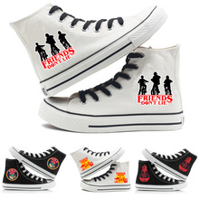 Stranger Things 2019 Canvas Shoes For Women Causal Wear High