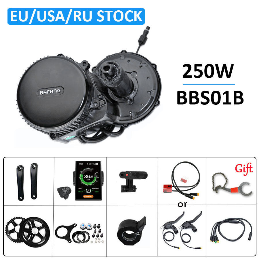 36V250W Bafang BBS01 <font><b>e</b></font> <font><b>bike</b></font> motor set für fahrrad <font><b>e</b></font>-<font><b>bike</b></font> <font><b>conversion</b></font> <font><b>kit</b></font> 8FUN <font><b>bike</b></font> motor elektrische <font><b>bike</b></font> <font><b>kit</b></font> 250W mitte zyklus motor image