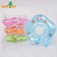Accessoires de natation pour bébé, Tube de cou, anneau de sécurité pour bébé, flotteur pour la baignade, eau gonflable Flamingo