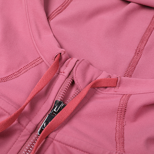 Brushed Full Zip Hoodie Jacket Sportswear