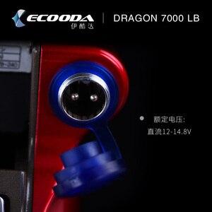 Image 3 - Ecooda 7000lb חשמלי סליל דגי ספינת דיג סירת סליל דיג סליל אדום משלוח חינם