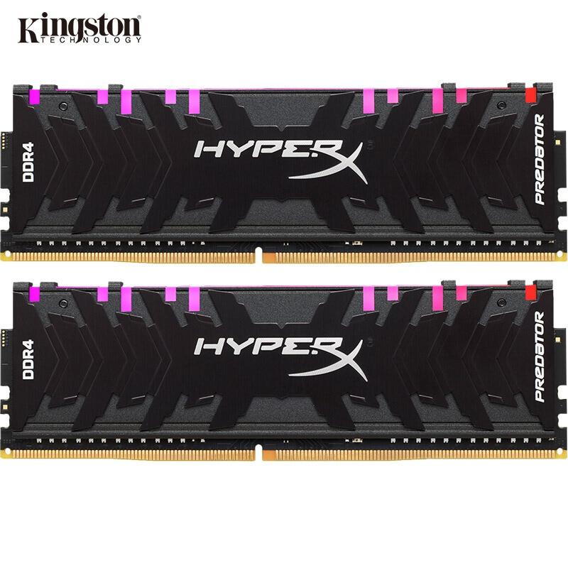 Kingston HyperX Predator RGB DDR4 8GB 16GB 3000MHz 3200MHz 3600MHz 4000MHz  DIMM XMP Memoria Ram Ddr4 For Desktop Memory Rams