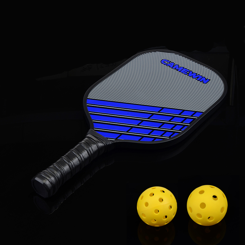 New Sport Carbon Fiber Pickleball Paddle Men Women Pickleball Racket Low Profile Edge Guard With Protective Cover