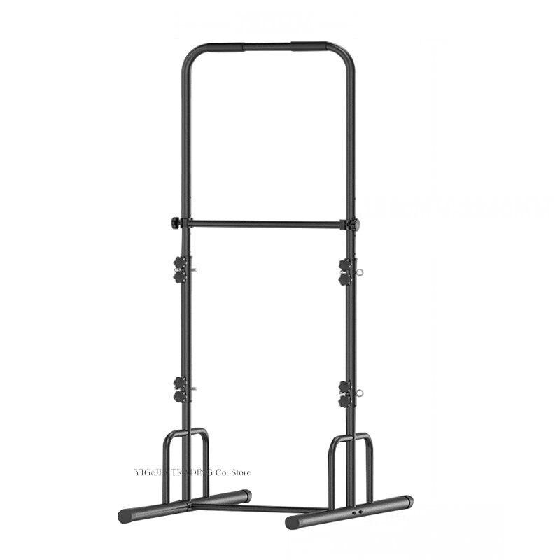 Puxe a estação do mergulho para o ginásio em casa, equipamento ajustável do treino do treinamento da força da altura de 5 graus, alarga a barra interna base do horizonte