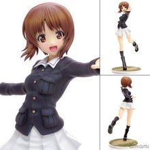 Anime Girls And Panzer Nishizumi Miho Jacket Ver. 1/8 Scale Painted Sexy PVC Action Figure Collectible Model Toys Doll