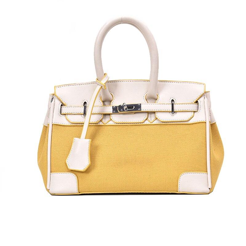 Luxury Handbags Lether Lock Shoulder Bags 2019 Fashion Designer Crossbody Bag for Women High Quality Casual Female Messenger Bag