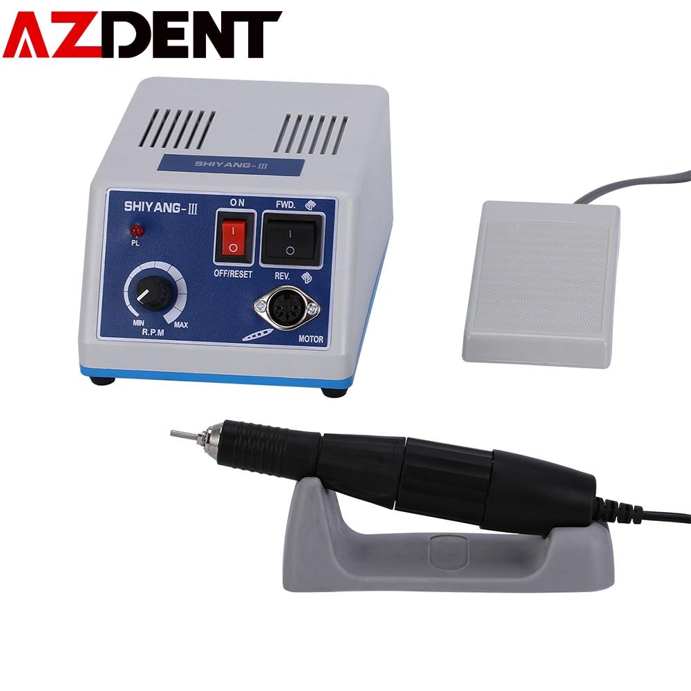 Hand Grinder Power Handpiece Micromotor For Dental Lab N3 Marathon Polishing Micromotor + Handpiece 35K Rpm 102L Handle