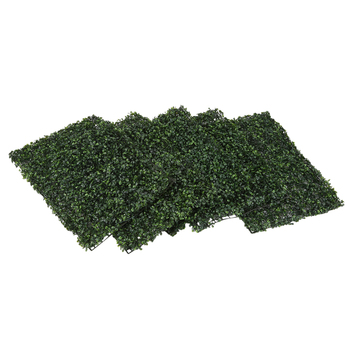 5PCS 40X60Cm Artificial Grass Lawn Turf Simulation Plant Beautification Wall Decoration Green Lawn Store Picture Background Gras
